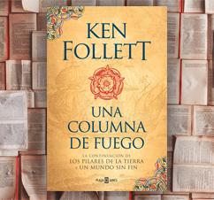 'Una columna de fuego' de Ken Follet