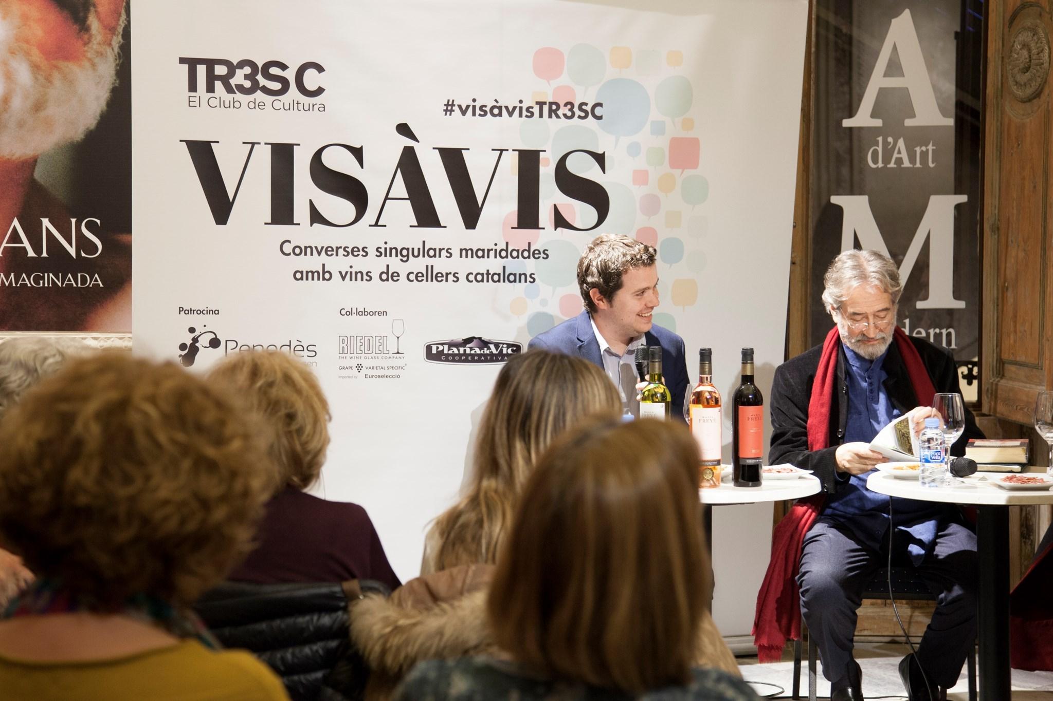#VisàVis amb Jordi Savall i el celler Domènech.Vidal