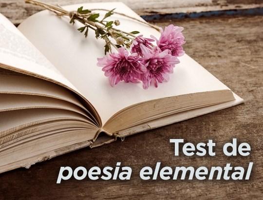 Què en saps de poesia?