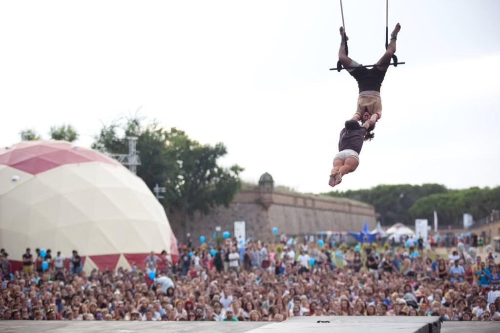 La Mercè de les arts de carrer: teatre, dansa i circ