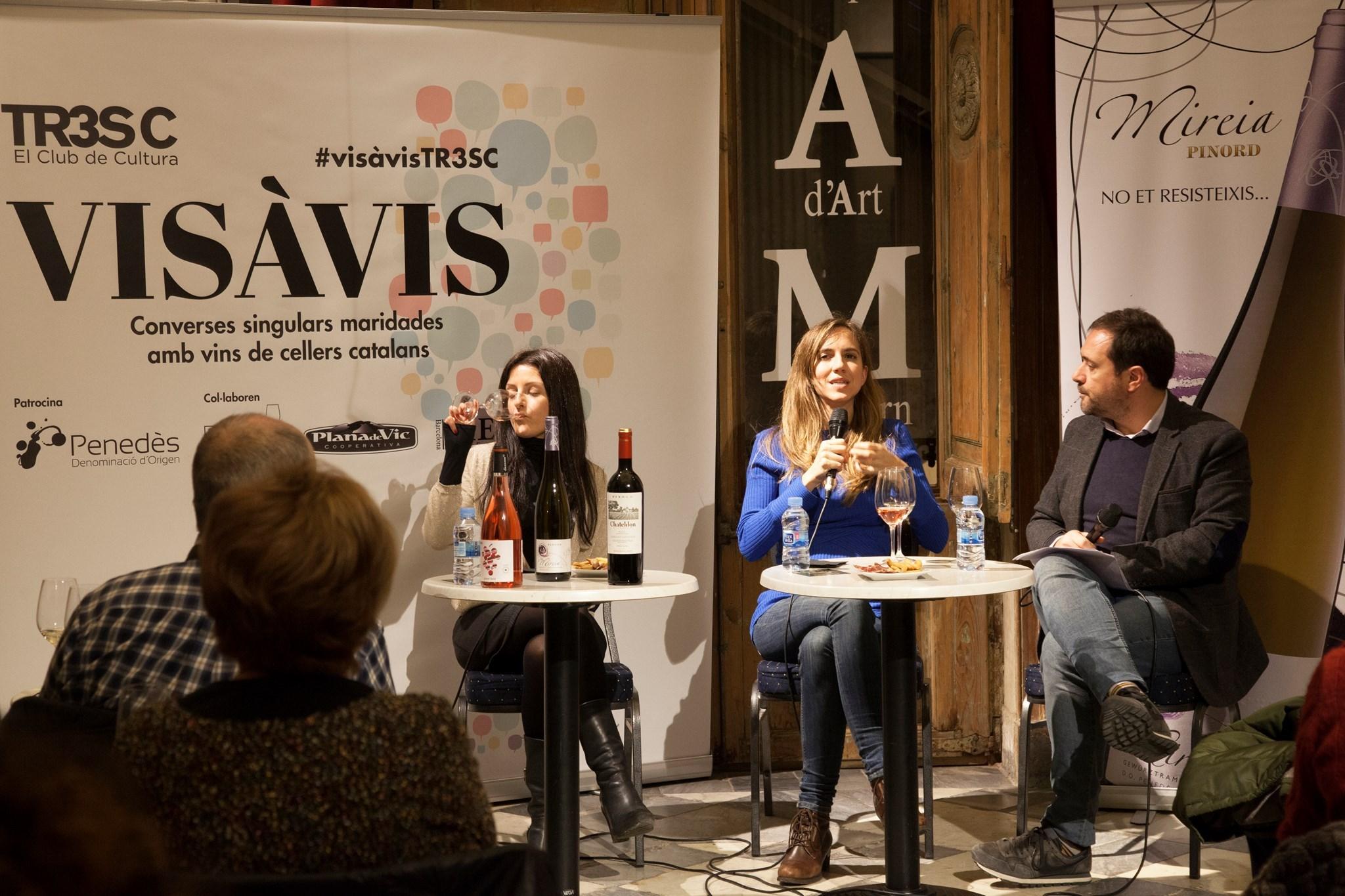 #VisàVis amb Aina Clotet i amb Bodegues Pinord