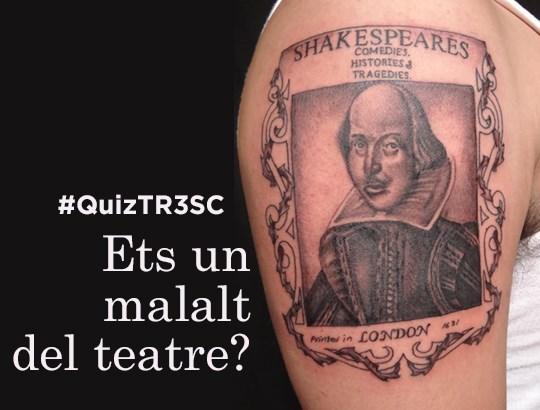 Quiz TR3SC: Ets un malalt del teatre?
