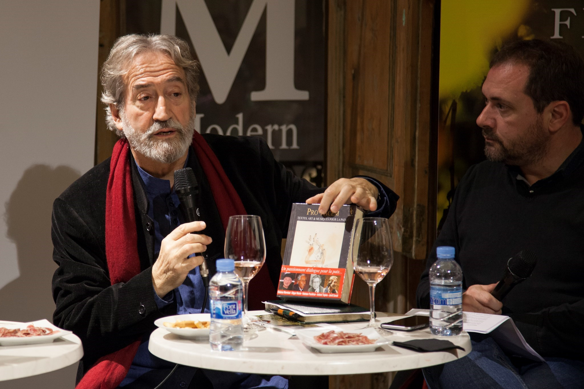 #VisàVis amb Jordi Savall i el celler Domènech Vidal