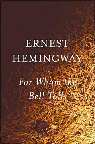 'For whom the bell tolls' · Ernest Hemingway