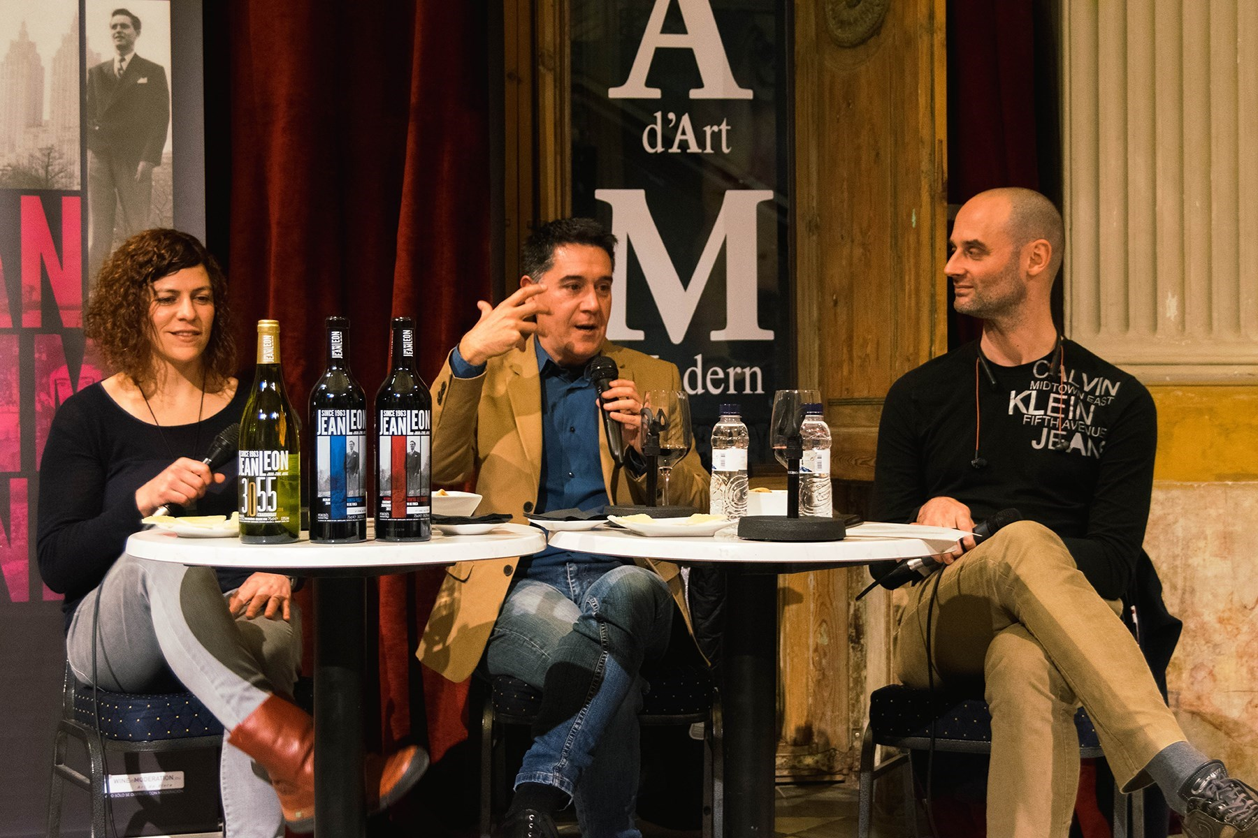 #VisàVisTR3SC amb Martí Gironell, vins Jean Leon i embotits de la Cooperativa Plana de Vic