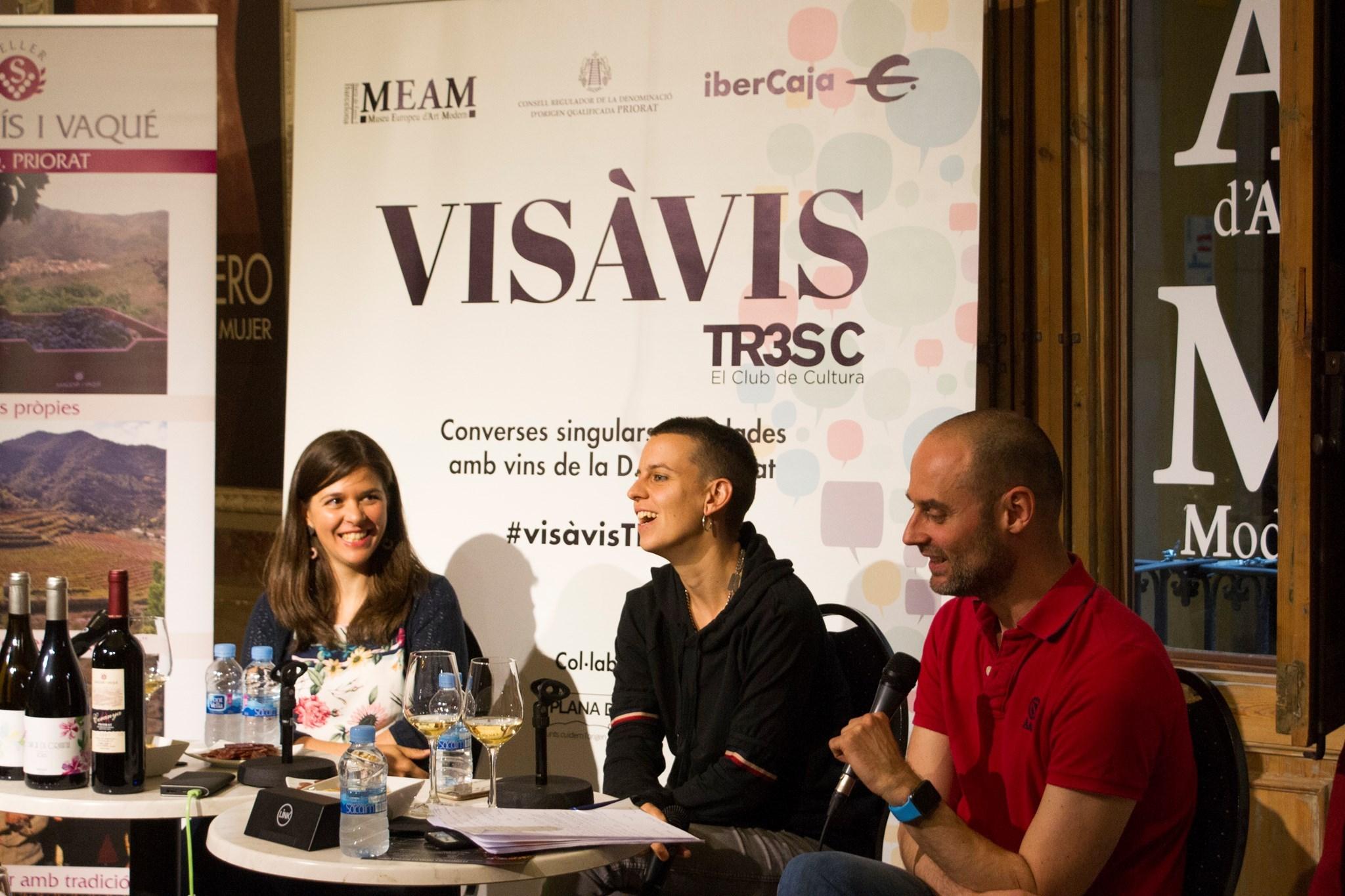 #VisàVisTR3SC amb Clara Peya i el celler Sangenís i Vaqué