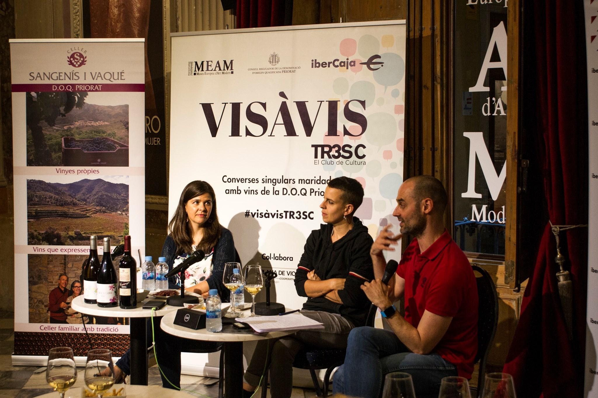 Clara Peya al Vis à vis TR3SC