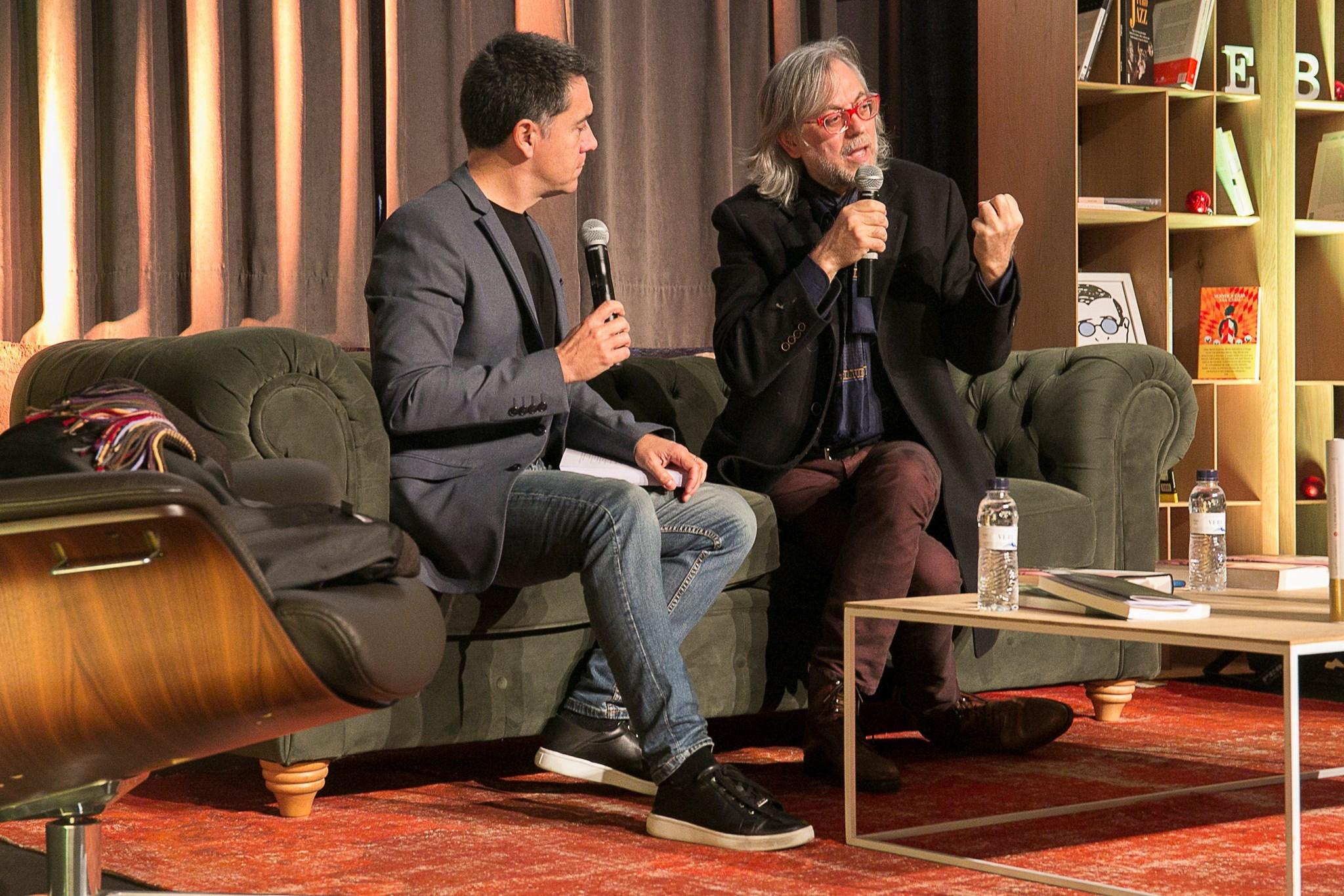 Protagonistes de la h(h)istòria amb Víctor Amela i Martí Gironell