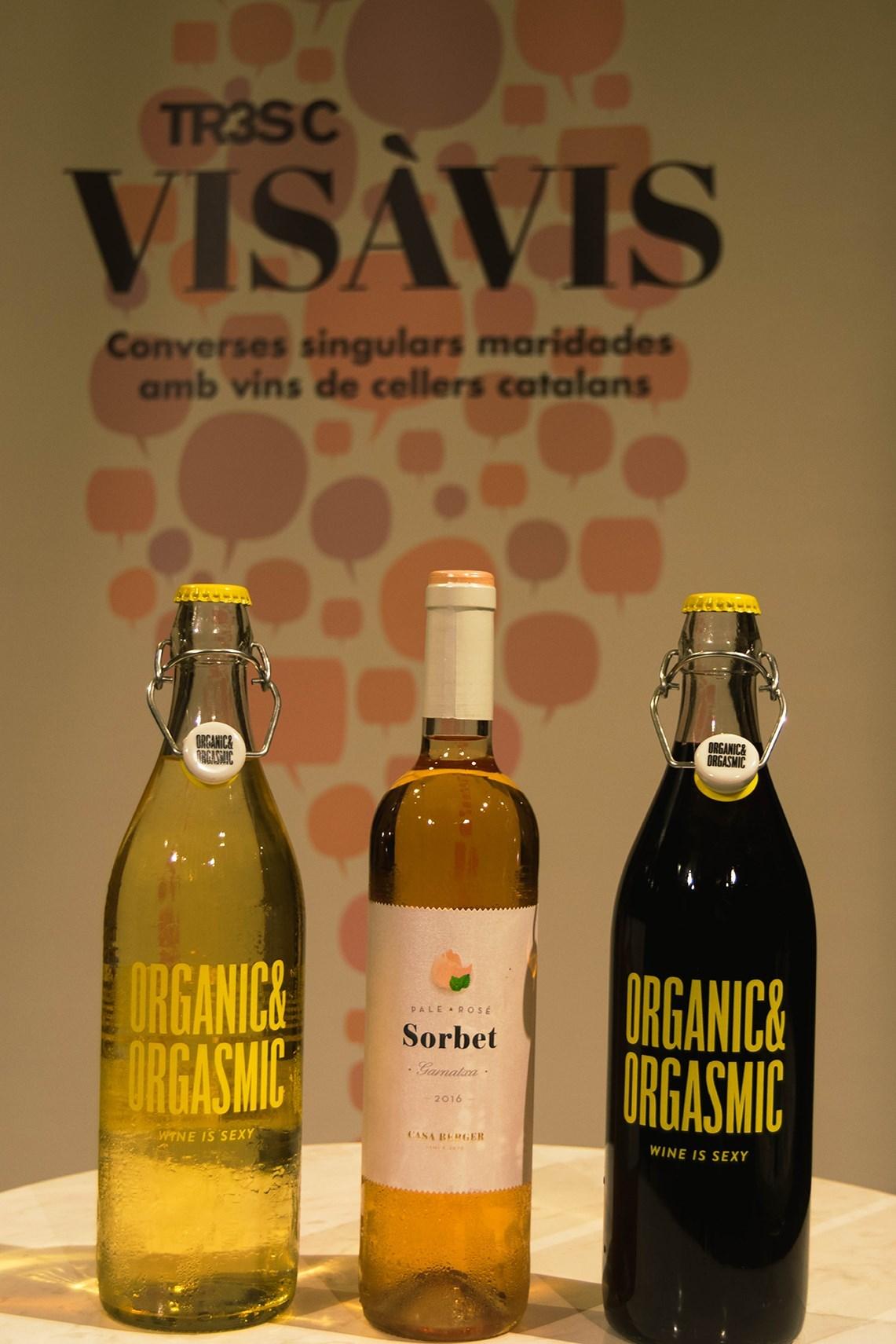#VisàVisTR3SC amb Jordi Borràs, el celler Talcomraja i embotits de la Cooperativa Plana de Vic