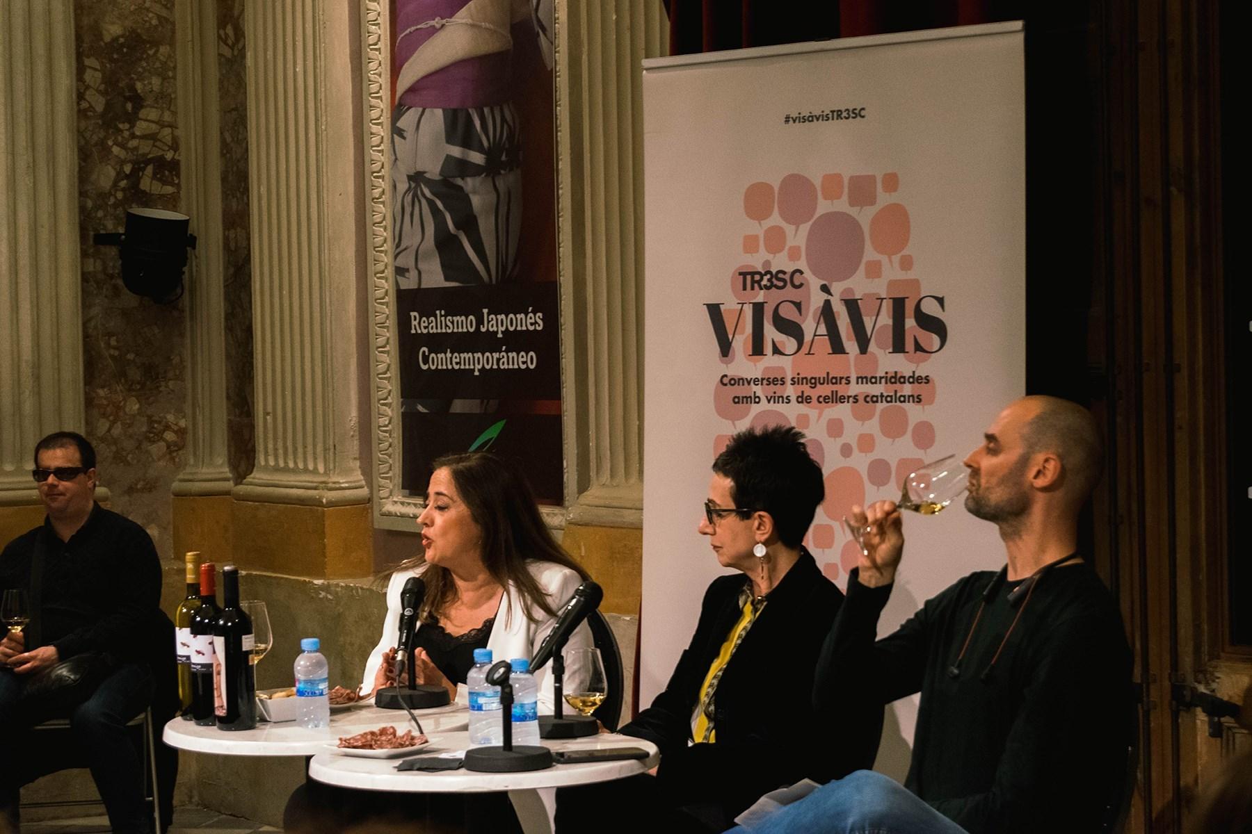 #VisàVisTR3SC amb Carme Ruscalleda, el celler Clos Galena i embotits de la Cooperativa Plana de Vic