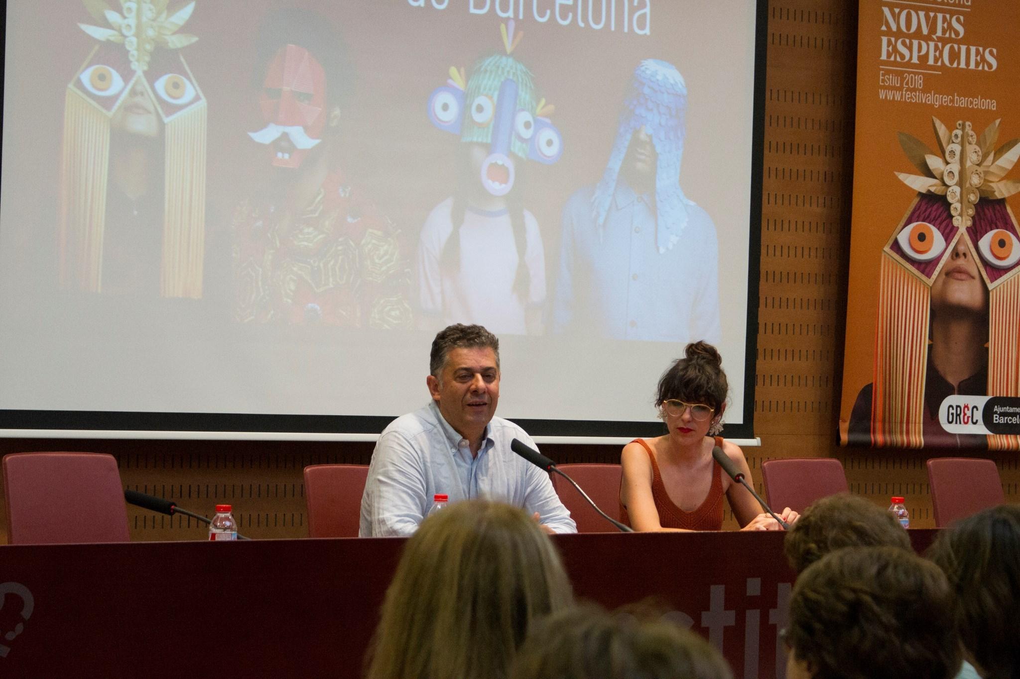Trobada amb el director del festival Grec, Francesc Casadesús