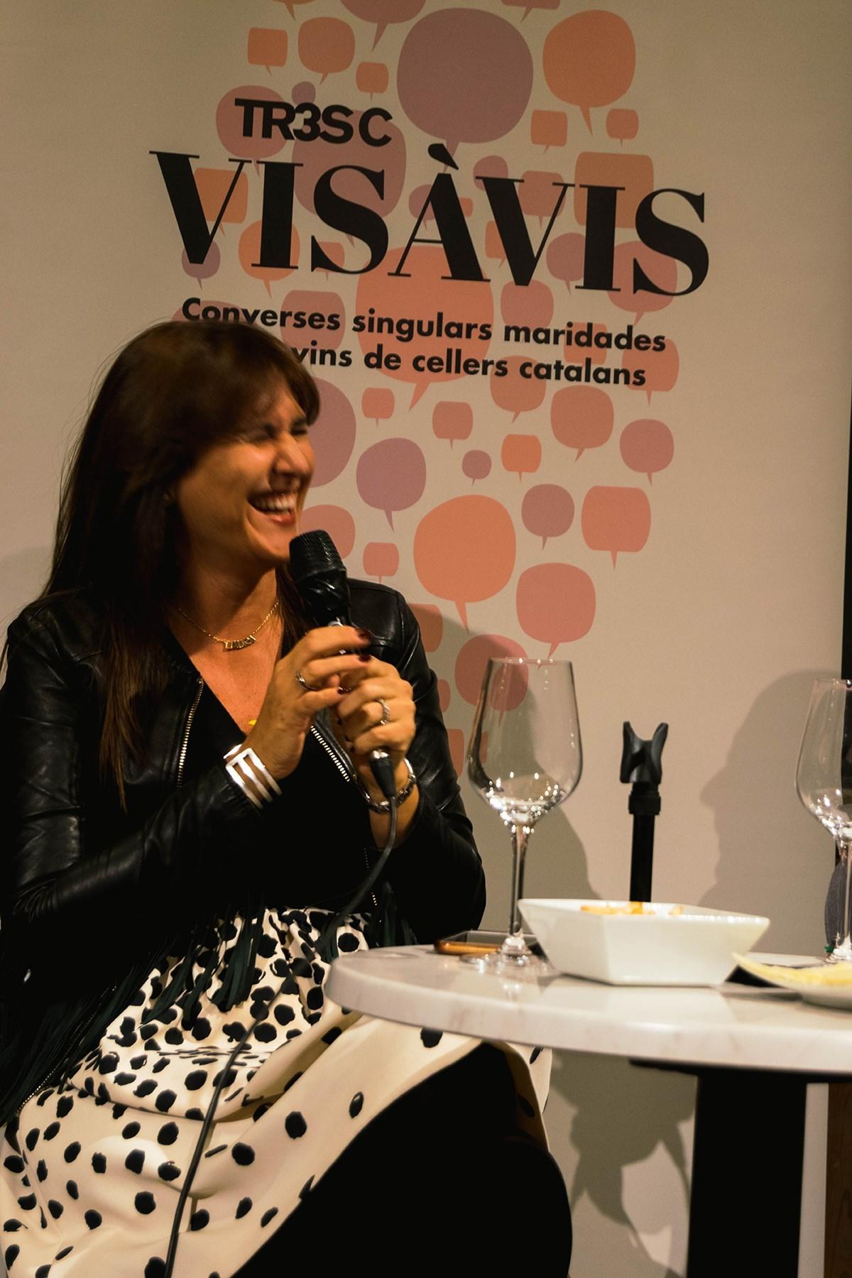 #VisàVisTR3SC amb Laura Borràs, el celler El Xitxarel·lo i embotits de la Cooperativa Plana de Vic