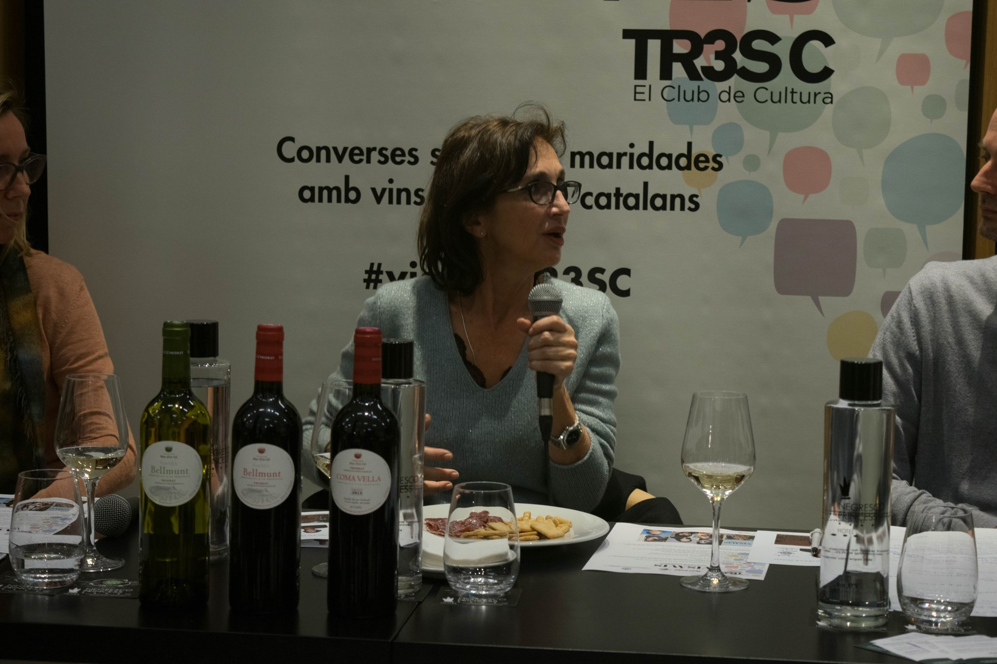 #VisàVisTR3SC amb Sílvia Munt i Mas d'en Gil
