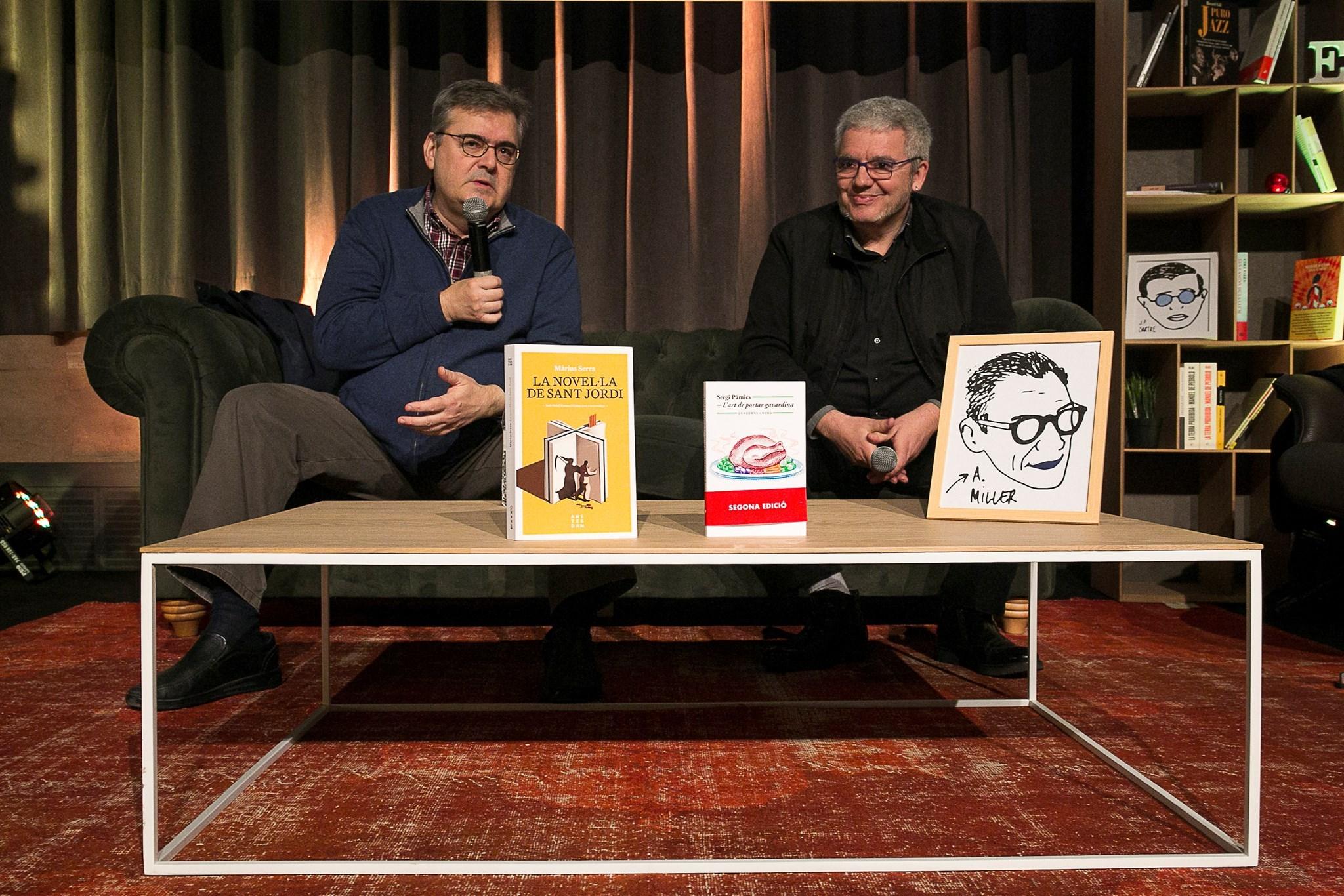 L'amor per la sàtira amb Sergi Pàmies i Màrius Serra