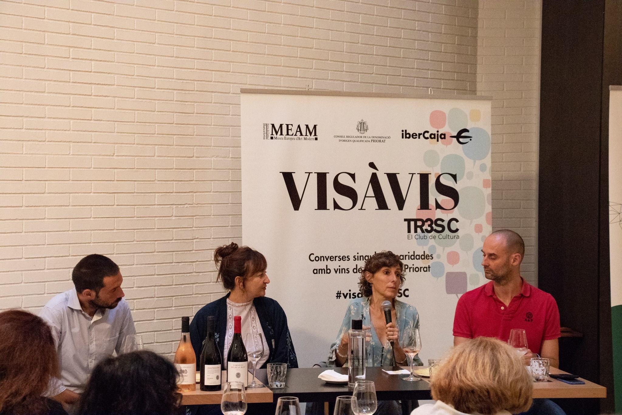#VisàVisTR3SC amb Marta Pérez i Mamen Duch (T de Teatre) i el celler Scala Dei