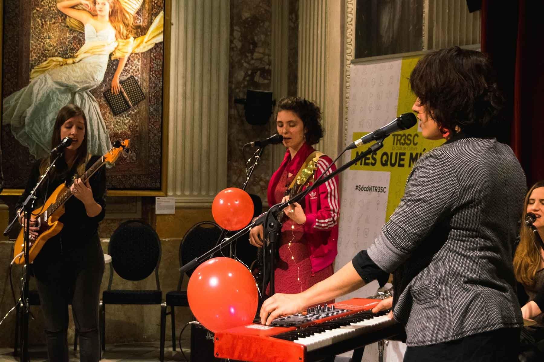 #MésQueMúsica amb WOM's Collective