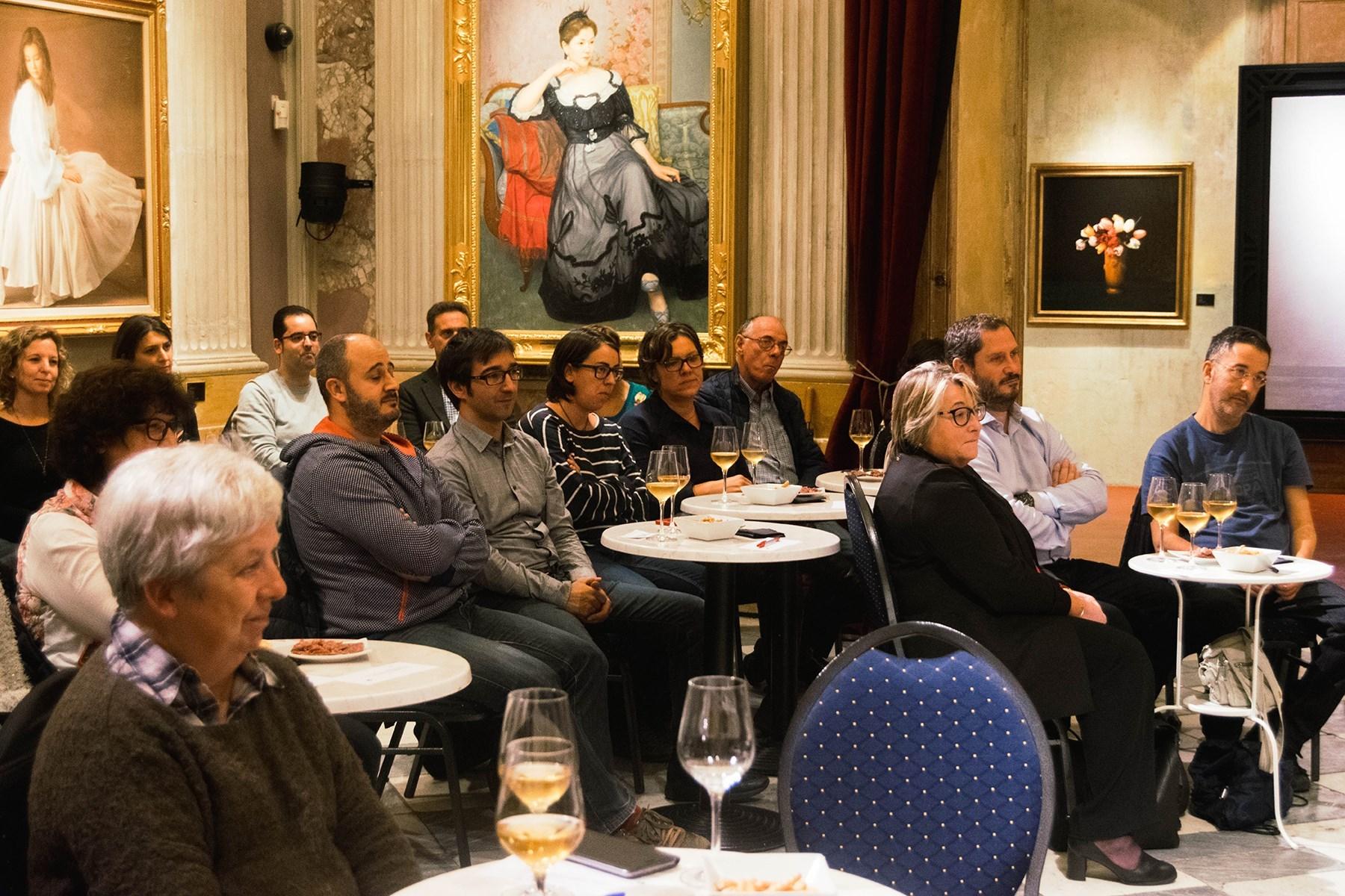 #VisàVisTR3SC amb Javier Sierra i Josep Grau Viticultor