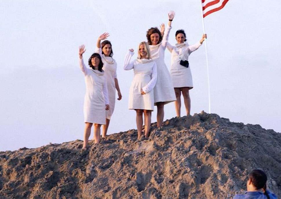 First Woman on the Moon · Aleksandra Mir