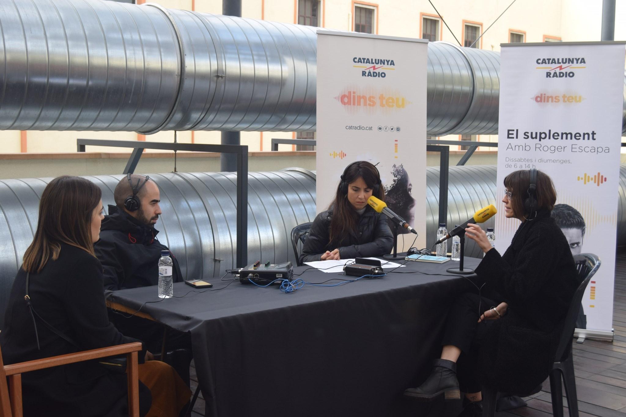 'El Suplement' de Catalunya Radio en directe amb Marta Roqueta