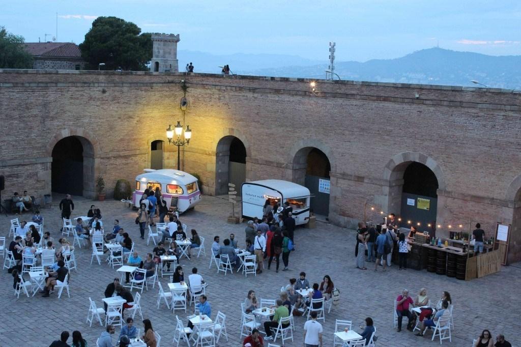 El Castell de Montjuïc amb food trucks!