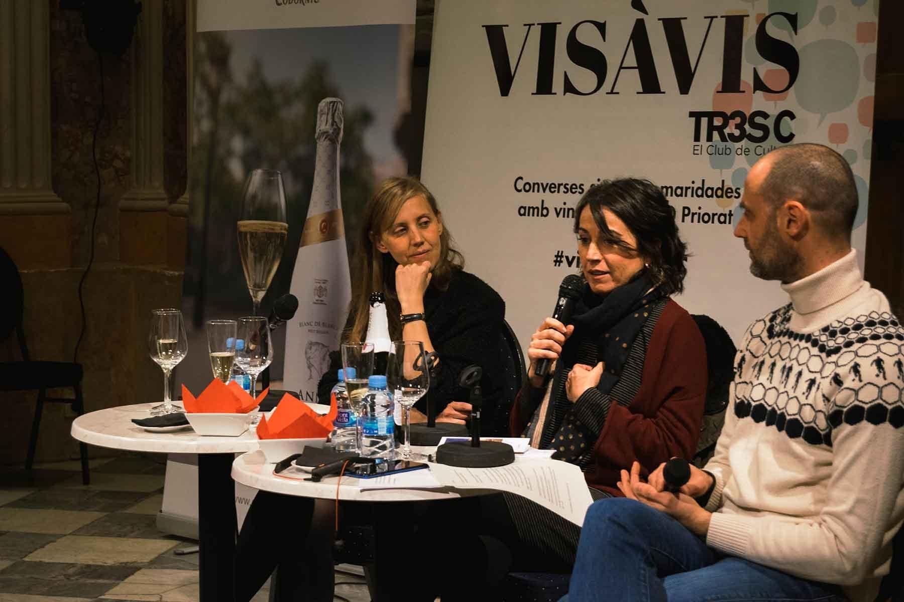#VisàVisTR3SC amb Lídia Heredia, Codorniu i embotits de la Cooperativa Plana de Vic