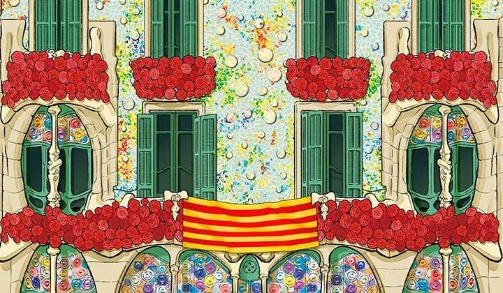 #TotsFemSantJordi de la Casa Batlló