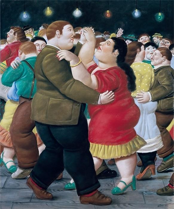 'Ballarins', de Fernando Botero