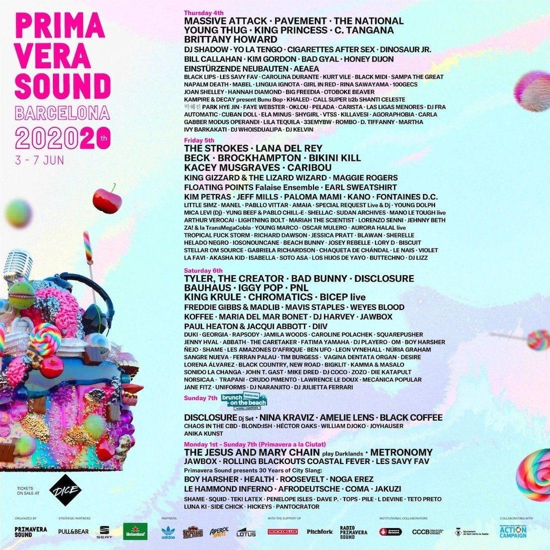Primavera Sound · Del 3 al 7 de juny