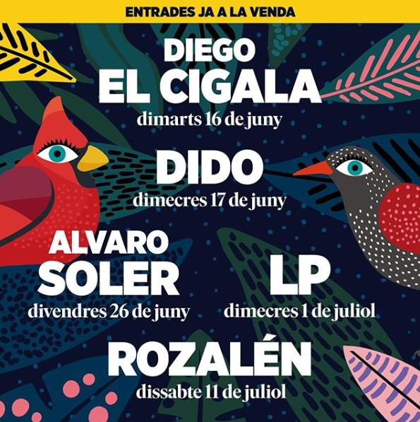 Jardins de Pedralbes · De l'11 de juny al 10 de juliol