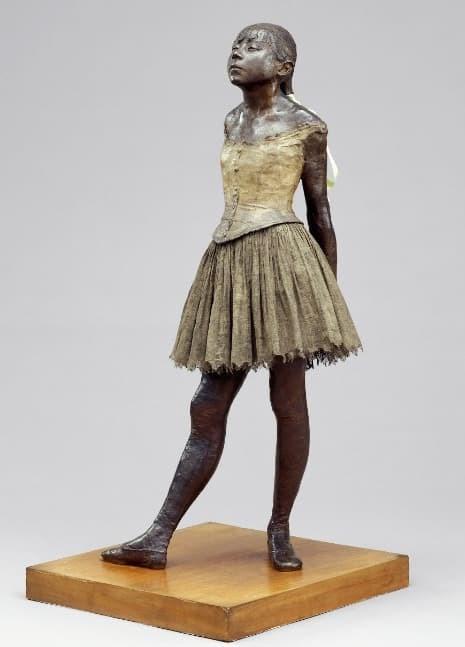 'La petita ballarina de catorze anys', d'Edgar Degas (1834-1917)
