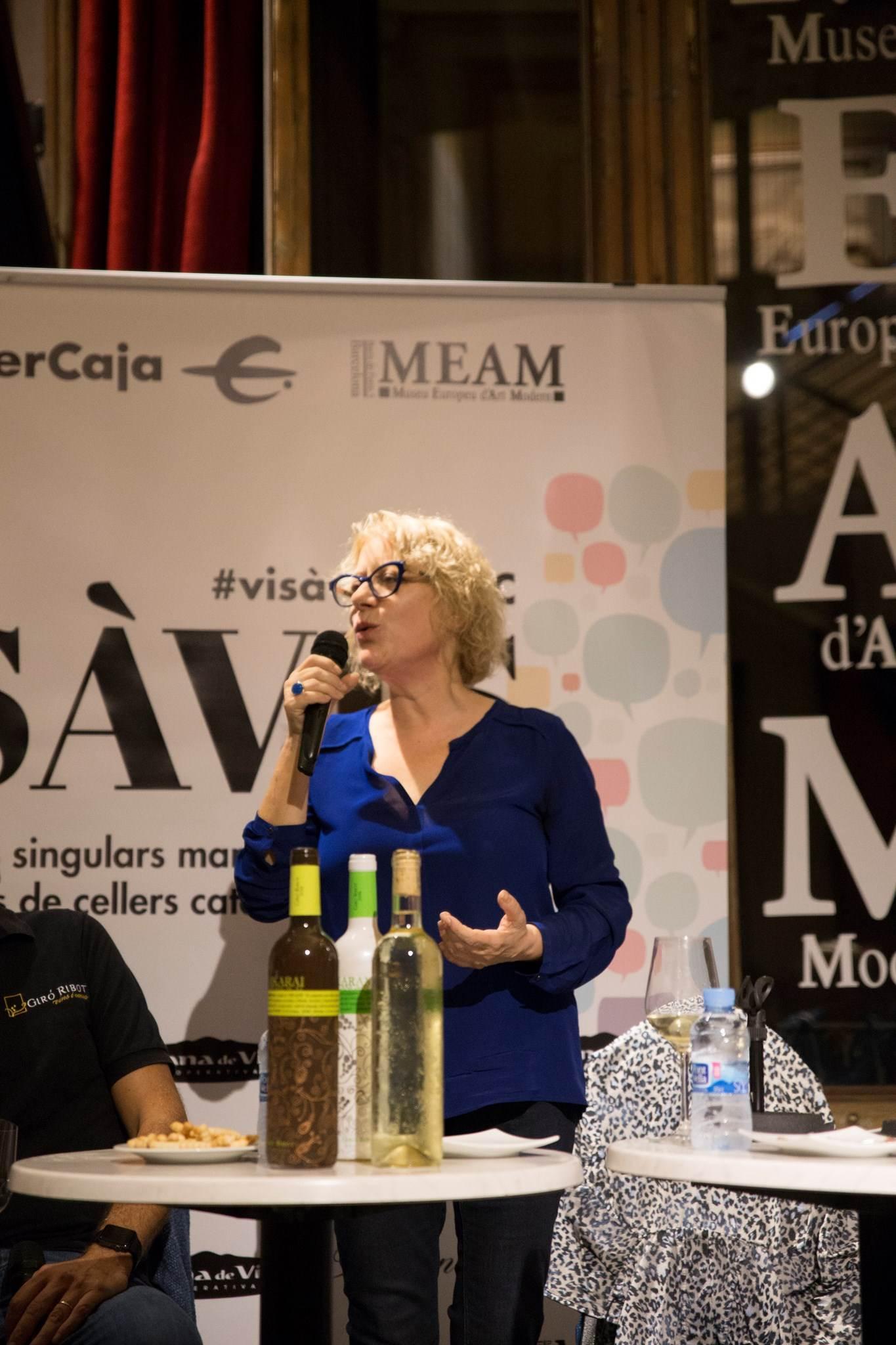 #VisàVis amb Marina Rossell i el celler Giró Ribot