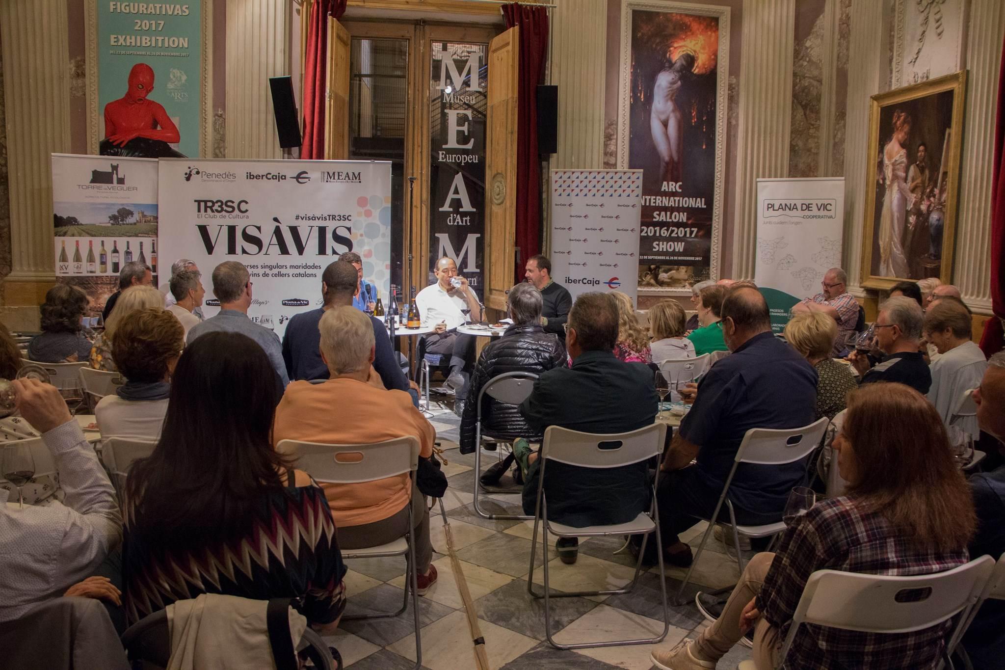#VisàVis amb Vicent Sanchis i el celler Torre del Veguer