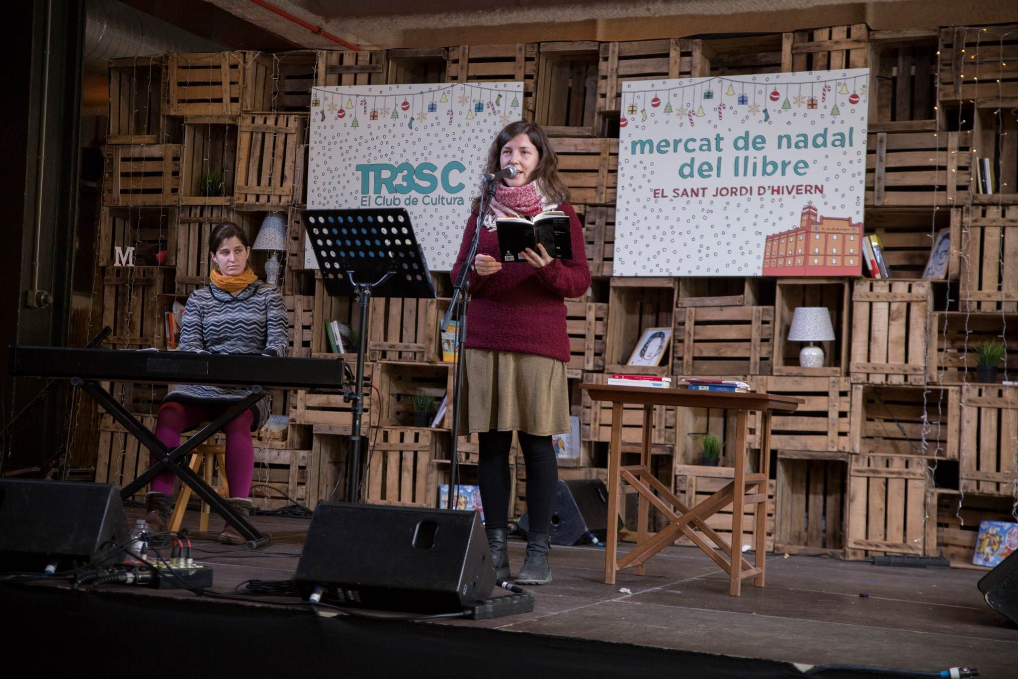 Recital Afònic amb Núria Domenech i Mari Muñoz