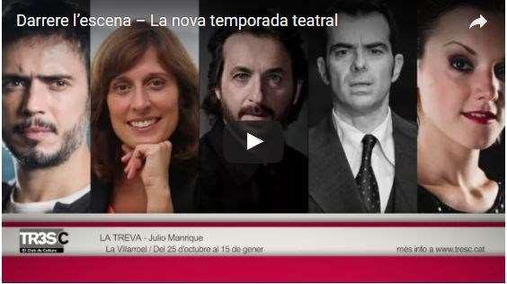 Darrere l'escena – La nova temporada teatral