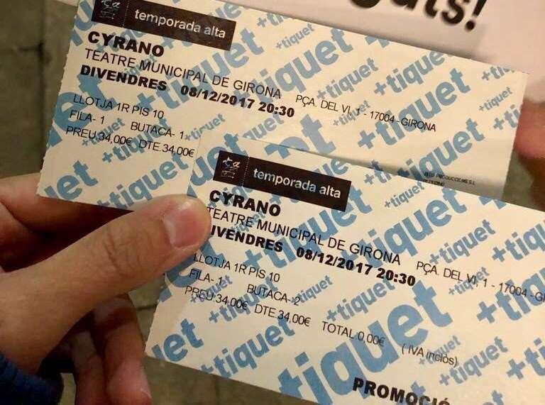 Nit màgica amb 'Cyrano' a Girona, per Albert Ibáñez