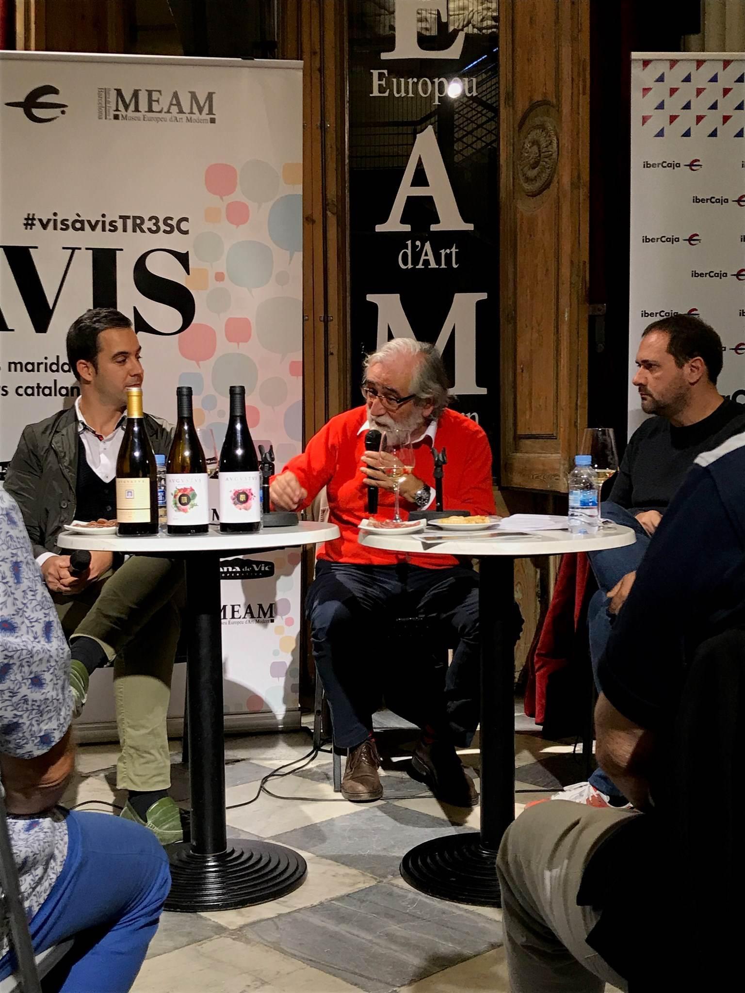 #VisàVis amb Vicenç Villatoro i el celler Avgvstvs Forvm