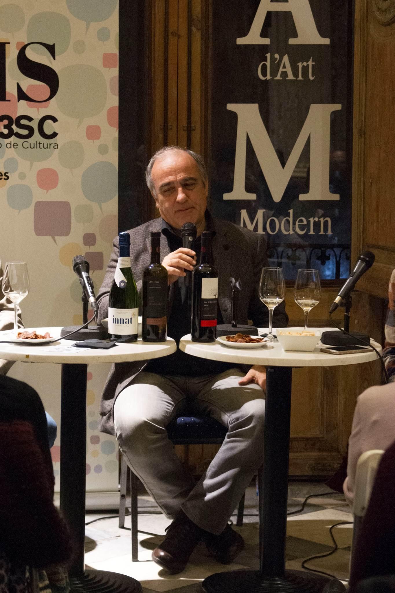 #VisàVis amb Francesc Orella i el celler Eudald Massana Noya