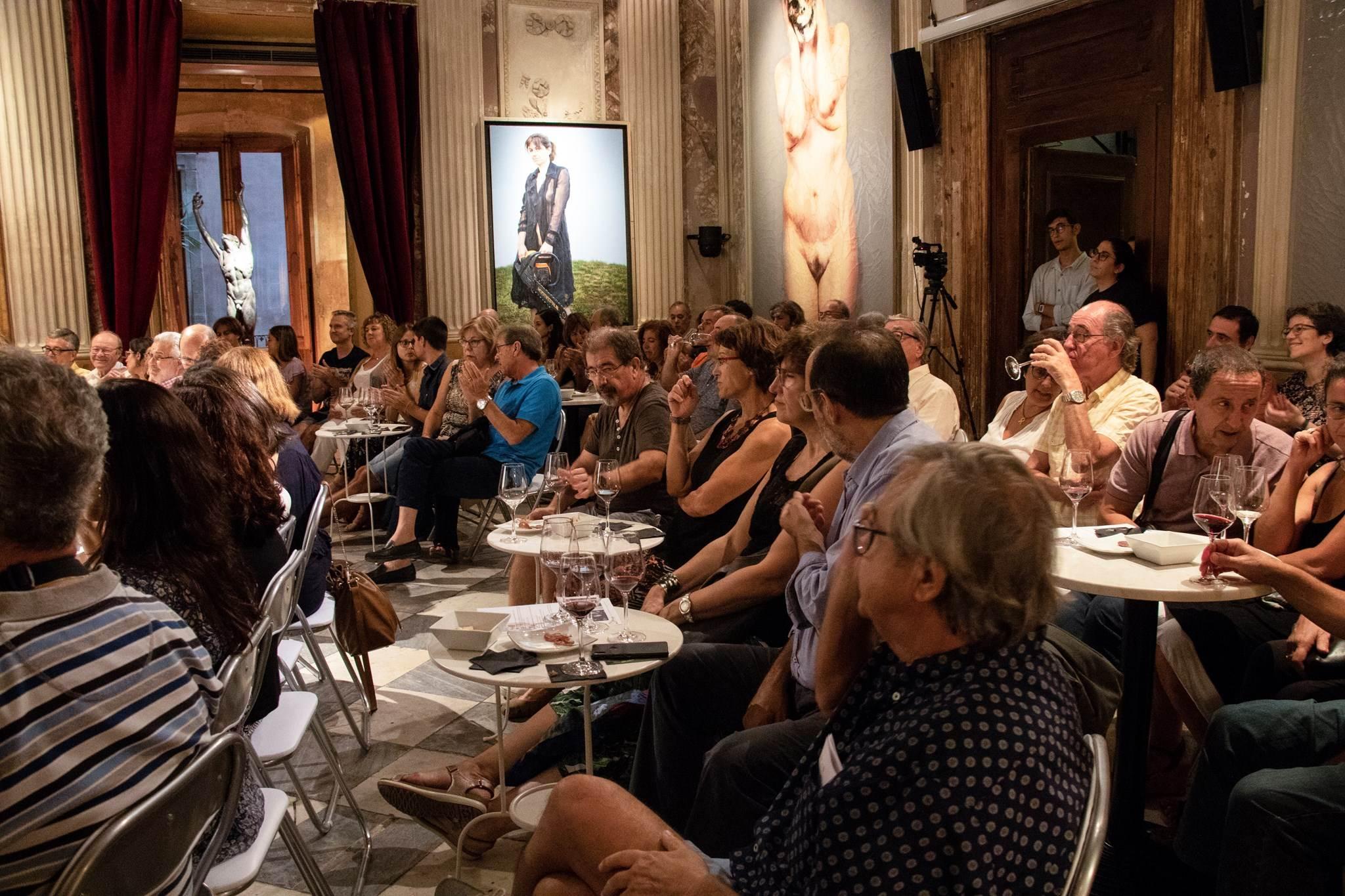 Primer #VisàVis amb Antoni Bassas i Buil & Giné [Setmana del Llibre en Català]