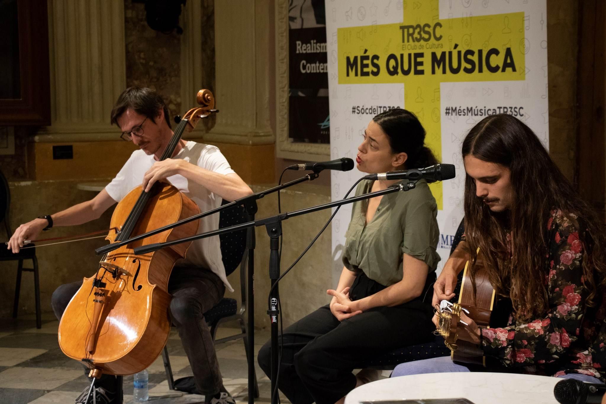 #MésQueMúsica amb Nubla presentant el disc 'Multiplexpo'