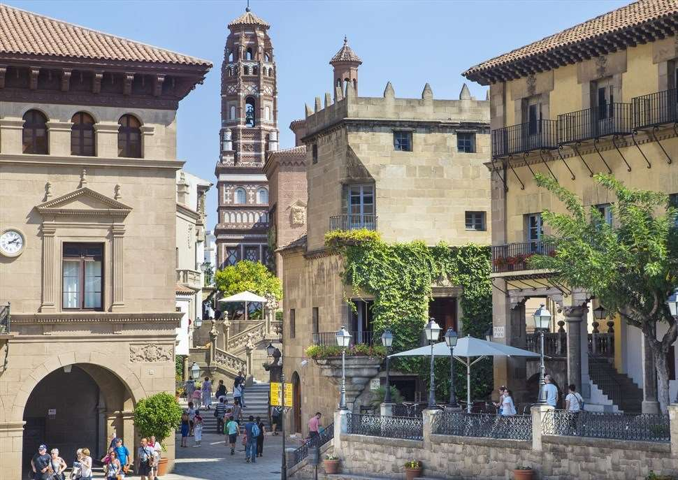 Visita el Poble Espanyol