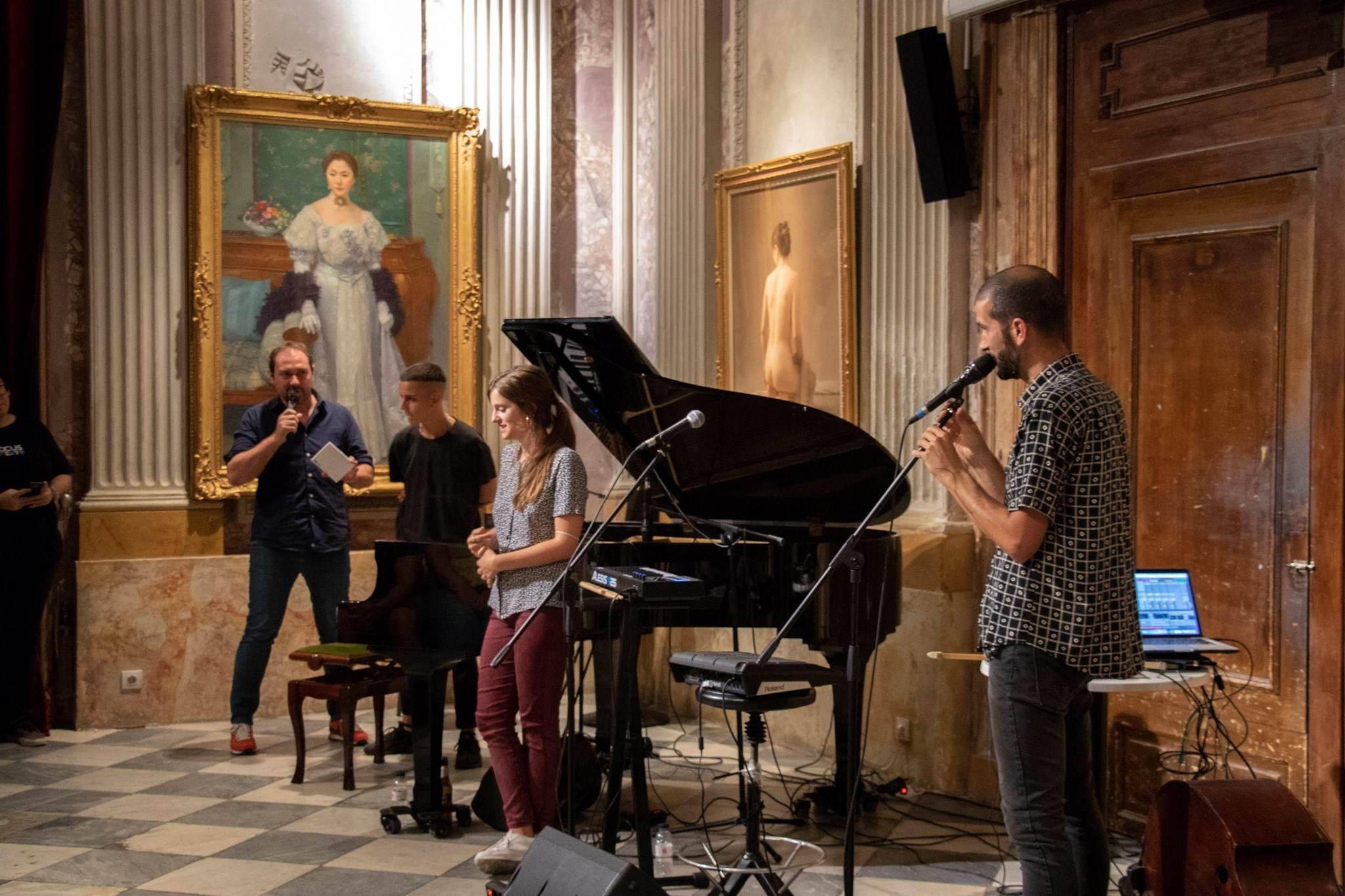 #MésQueMúsica amb Clara Peya, presentació del disc 'Estómac'