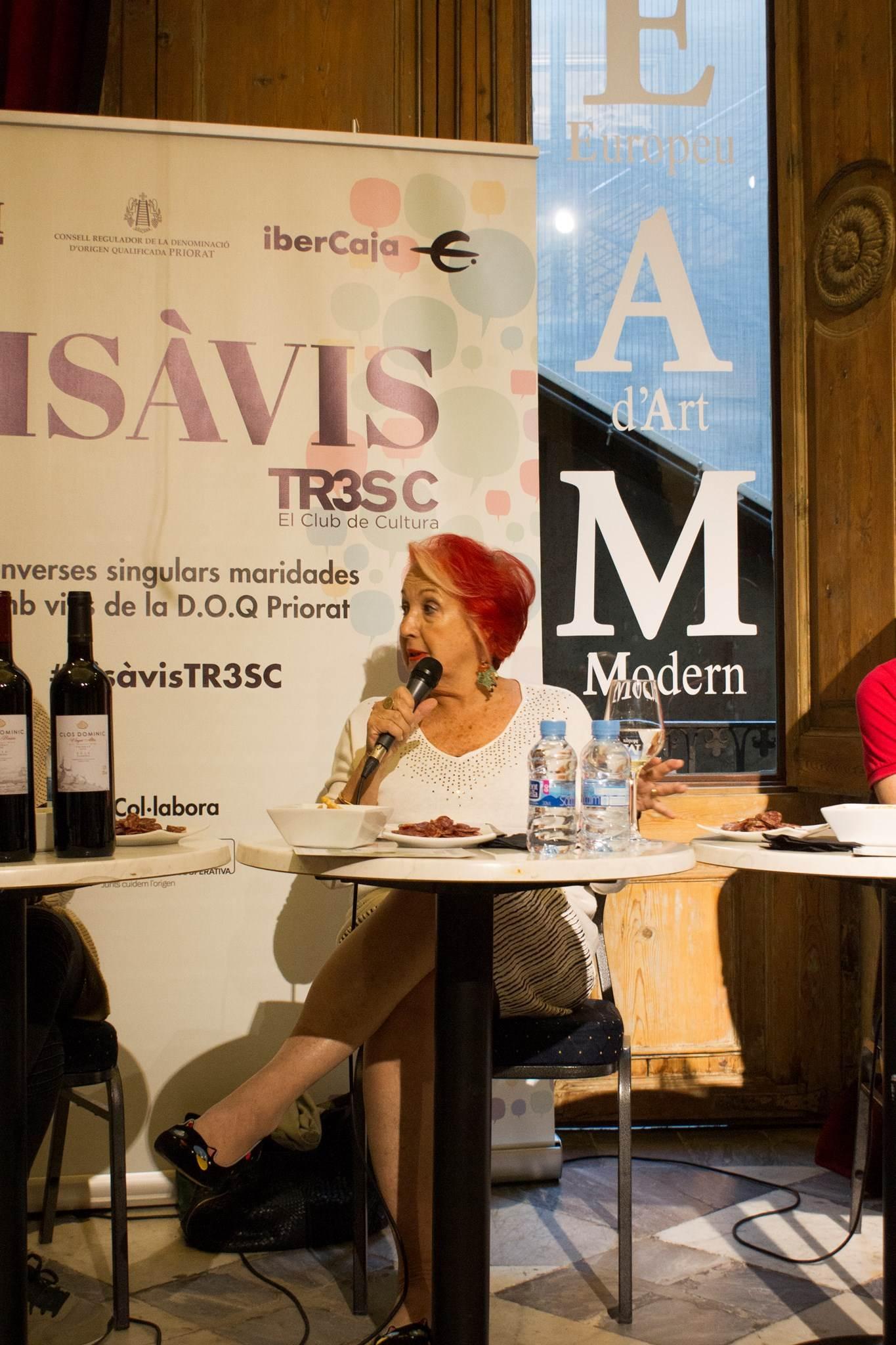 #VisàVisTR3SC amb Rosa Maria Calaf