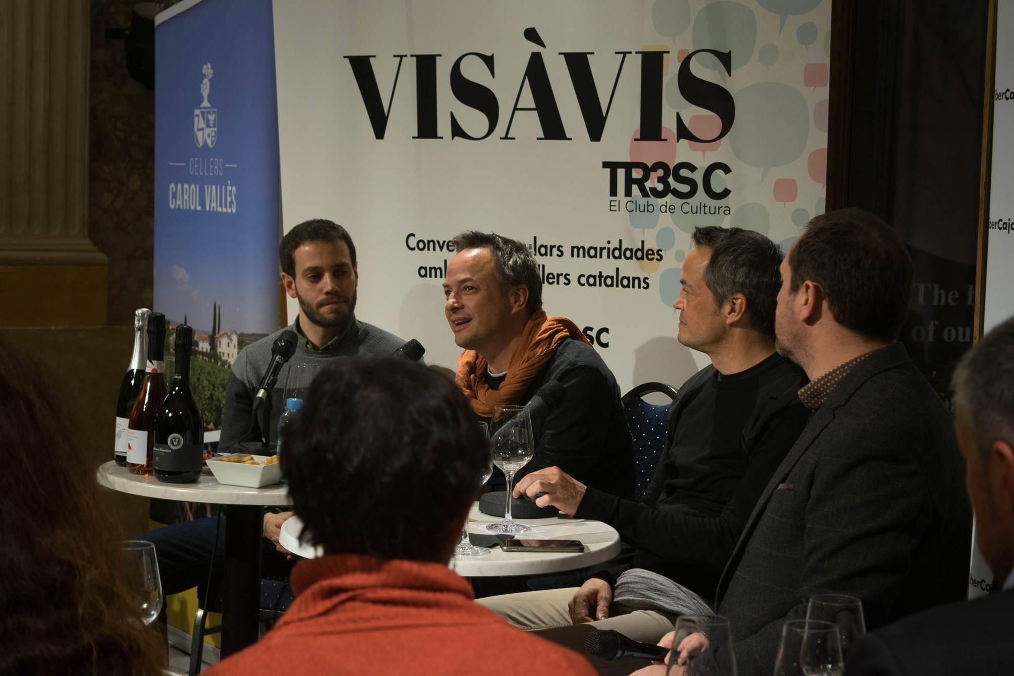 #VisàVis amb el Germans Torres i els Cellers Carol Vallès