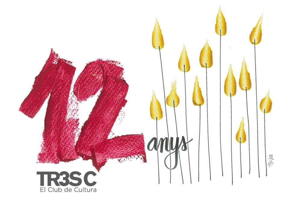 El 12è aniversari del Club TR3SC en imatges