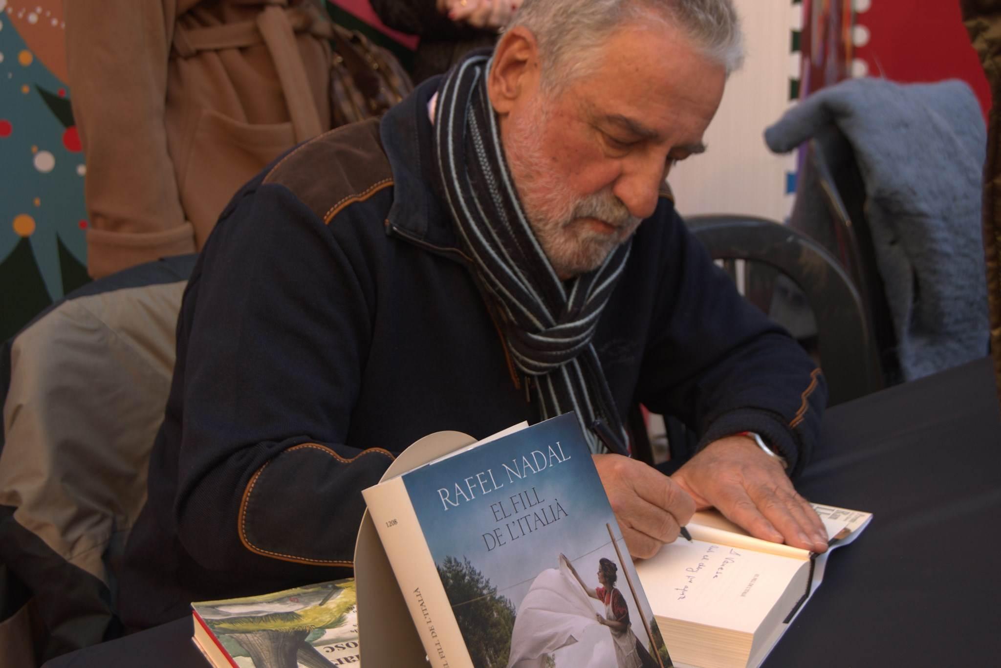 Signatura de llibres amb Rafel Nadal