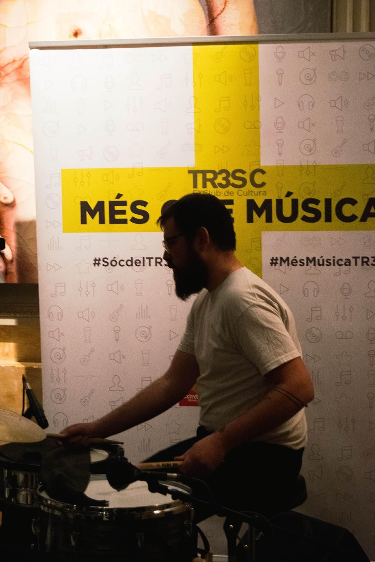 #MésQueMúsica amb Olympic Flame