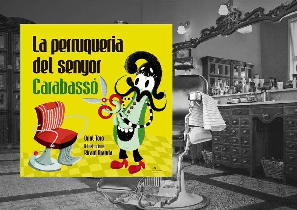 """13 abril a les 12h: Contacontes """"La perruqueria del senyor Carabassó"""" i xocolatada"""