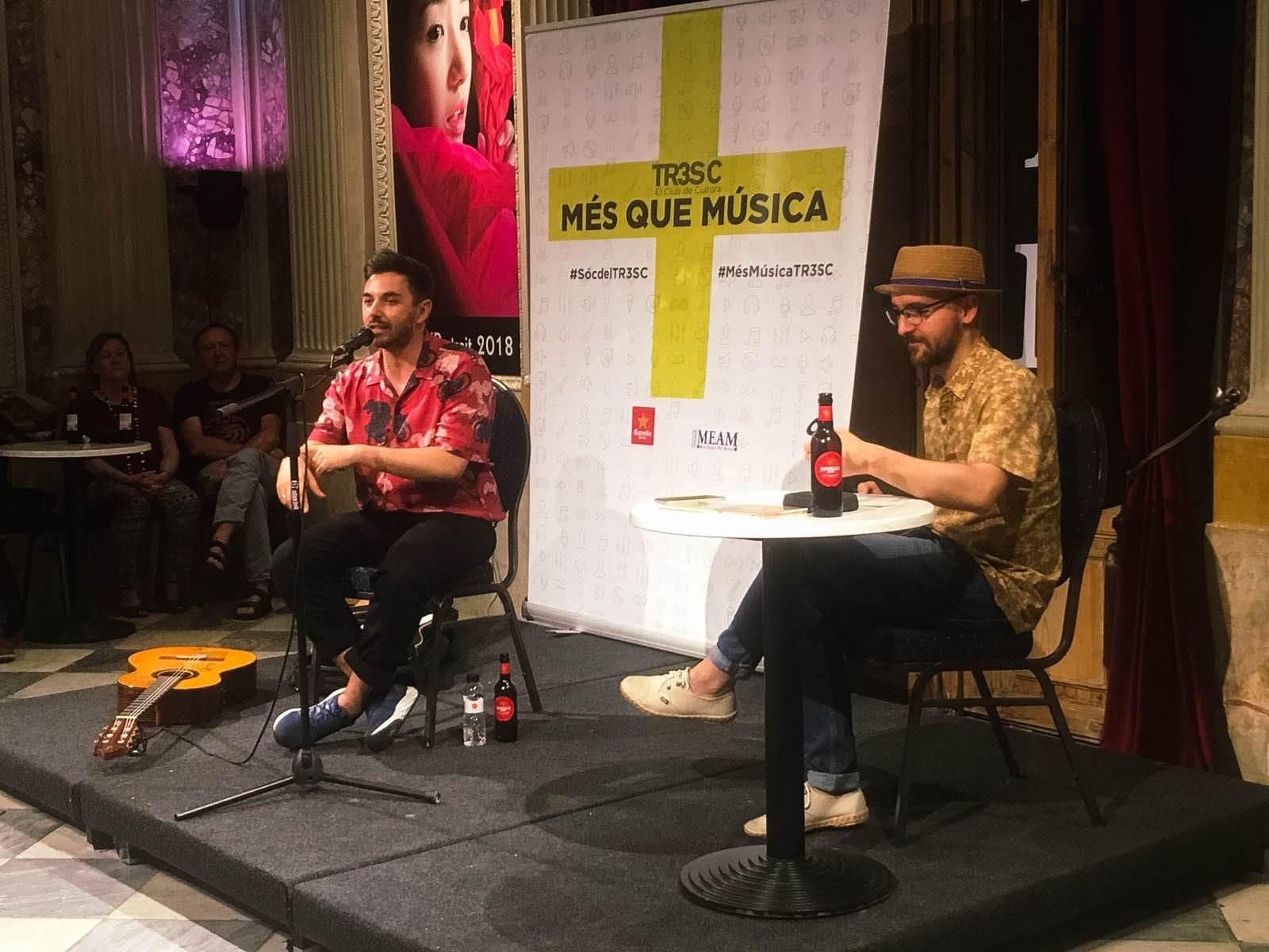 #MésQueMúsica amb Alessio Arena