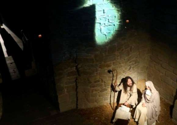 Pessebre vivent a Món San Benet