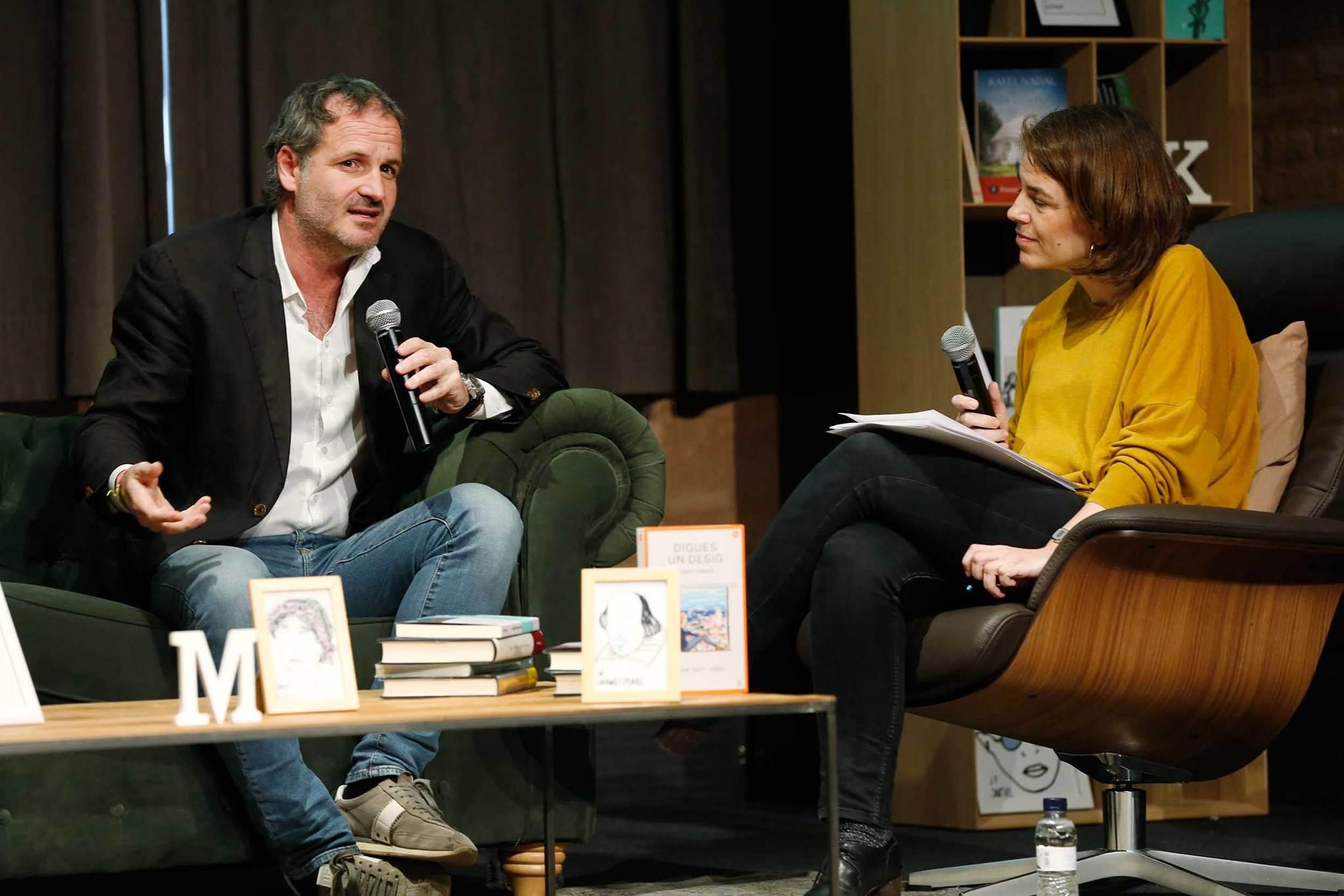 Jordi Cabré entrevistat per Anna Guitart